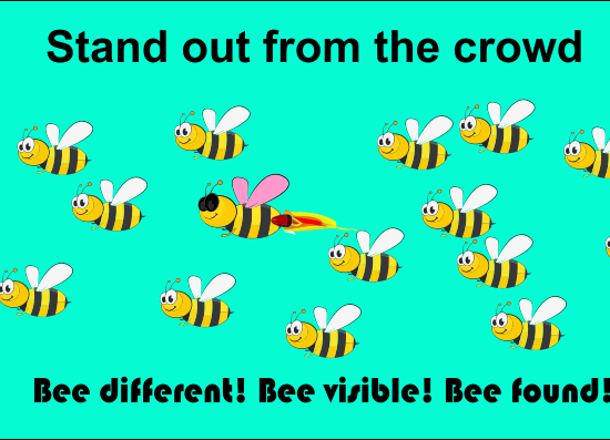 Online vsibility-Clickalytic helps you bee different