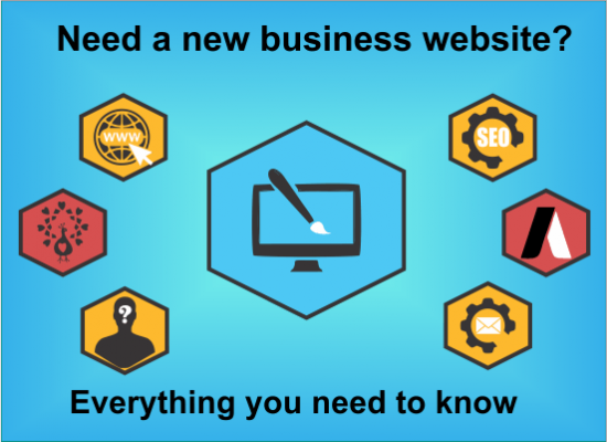 Everything you need to know about creating a new business website